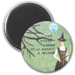 witch collage edit, witch collage edit, skeletons refrigerator magnets