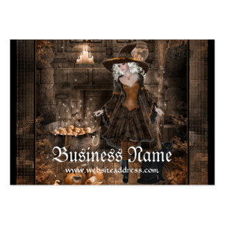 Witch Conjuring Spell 1  Fantasy Business Cards