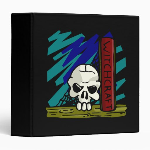Witch Craft Vinyl Binder