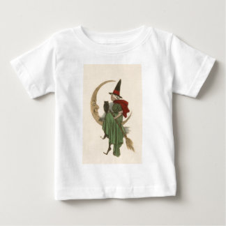 Witch Crescent Moon Owl Baby T-Shirt