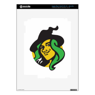 Witch Decal For iPad 3