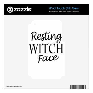 witch decal for iPod touch 4G