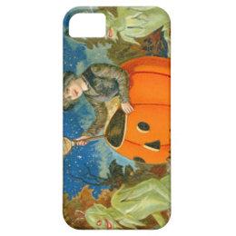 Witch Demon Jack O Lantern Devil iPhone SE/5/5s Case