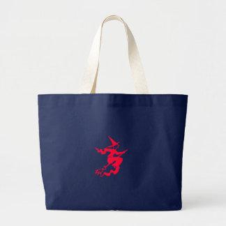 Witch Design Jumbo Tote Bag