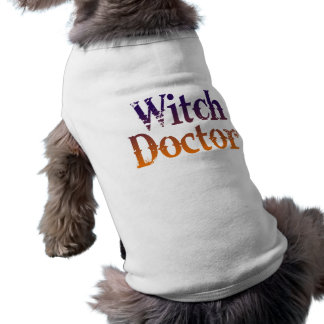 Witch Doctor Pet Clothing