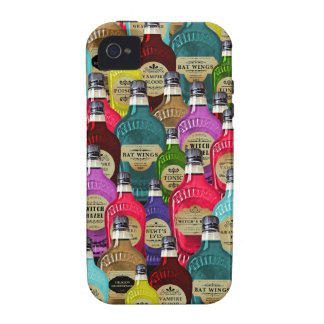 Witch Doctor Magic Potion Apothecary Tonic Bottles iPhone 4/4S Case