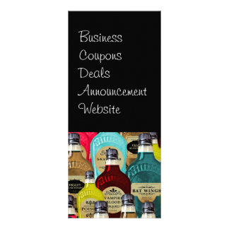 Witch Doctor Magic Potion Apothecary Tonic Bottles Rack Card