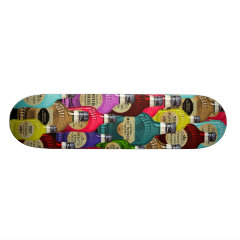 Witch Doctor Magic Potion Apothecary Tonic Bottles Skate Boards