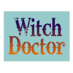 Witch Doctor Post Cards