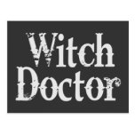 Witch Doctor Postcard