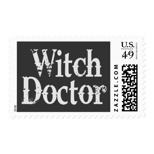 Witch Doctor Stamp
