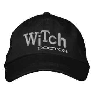 WITCH DOCTOR Style Halloween Embroidery Hat