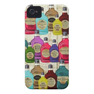 Witch Doctors Magic Potion Apothecary Tonic Bottle iPhone 4 Cases