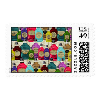 Witch Doctors Magic Potion Apothecary Tonic Bottle Postage Stamp
