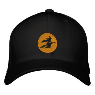 Witch Embroidered Baseball Cap