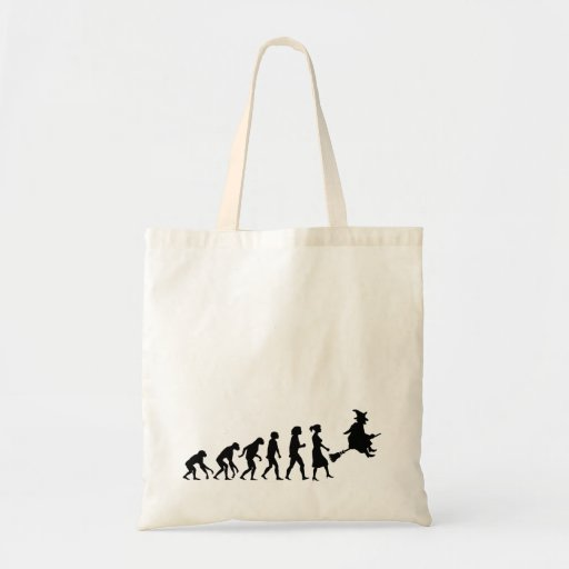 Witch Evolution Tote Bags