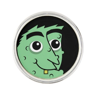 Witch Face Pin