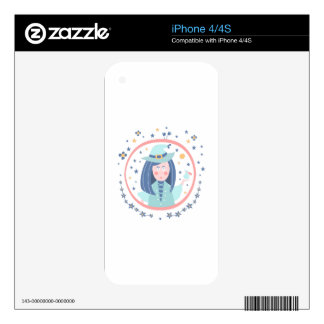 Witch Fairy Tale Character Skins For iPhone 4S