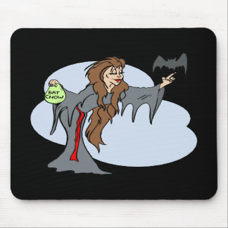 witch feeding Bat Mouse Pad
