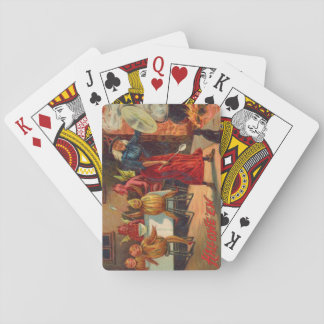 Witch Feeding Devils And Creatures Card Decks