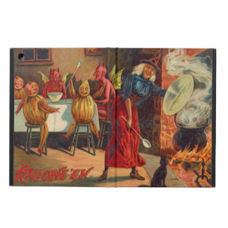 Witch Feeding Devils And Creatures Cover For iPad Air