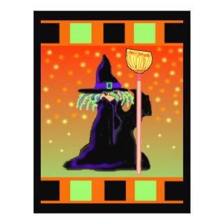 Witch Flyer Halloween