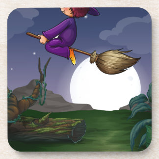 Witch flying coaster