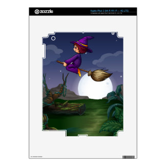 Witch flying skins for iPad 3
