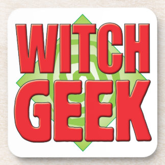 Witch Geek v2 Coasters