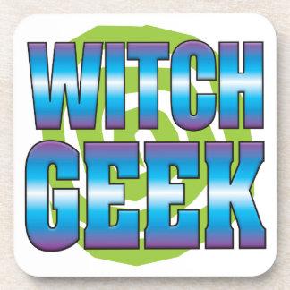 Witch Geek v3 Coaster