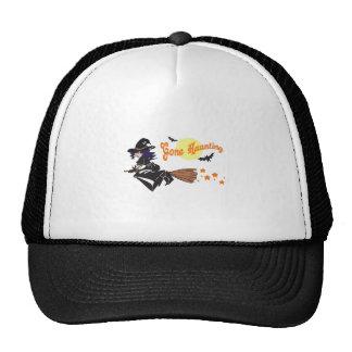 WITCH GONE HAUNTING TRUCKER HAT