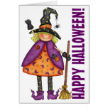 Witch - Greeting Card