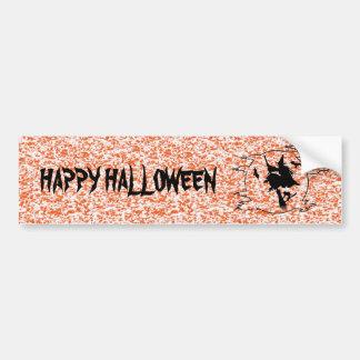 Witch - Halloween Bumper Sticker