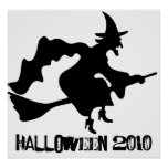 WITCH  halloween poster