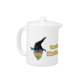 WITCH HALLOWEEN TEA POT or MINI PITCHER