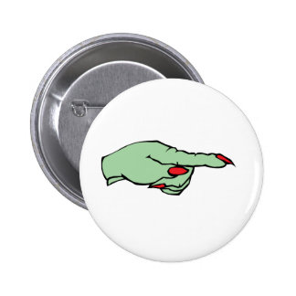 Witch Hand Pinback Buttons