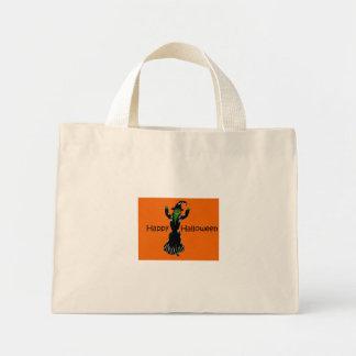 Witch-Happy-Halloween Mini Tote Bag