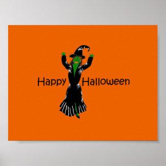 Witch-Happy-Halloween Print