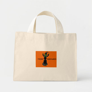 Witch-Happy-Halloween Tote Bag