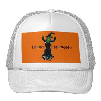 Witch-Happy-Halloween Trucker Hats