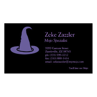 Witch Hat Business Card