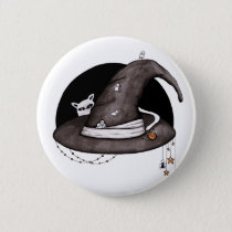 witch hat button