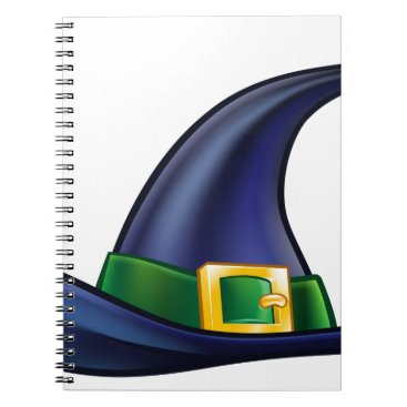 Halloween Themed Witch Hat Halloween Illustration Notebook