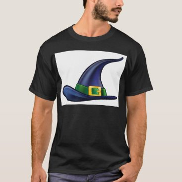 Halloween Themed Witch Hat Halloween Illustration T-Shirt