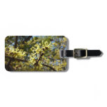Witch Hazel Flowers Bag Tag