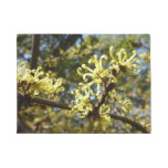 Witch Hazel Flowers Doormat