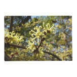 Witch Hazel Flowers Placemat