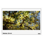 Witch Hazel Flowers Wall Sticker