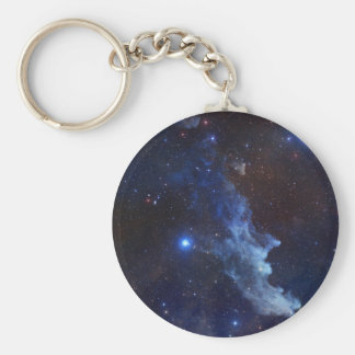 Witch Head Nebula Blue Space Key Chains