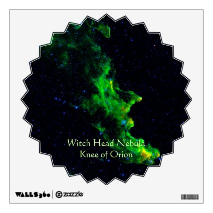Witch Head Nebula deep space astronomy image Room Decal
